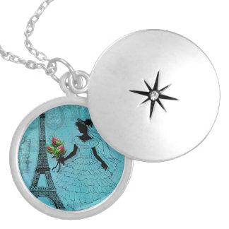 Eiffel Tower Bride Necklace