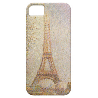 Eiffel Tower by Georges Seurat Barely There iPhone 5 Case
