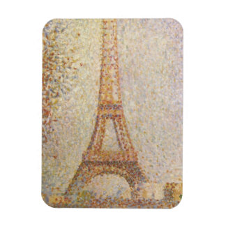Eiffel Tower by Georges Seurat Magnet