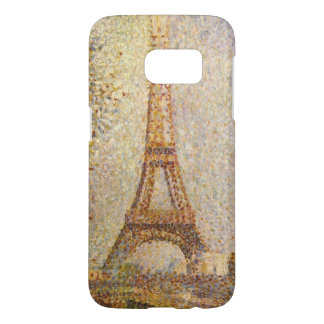 Eiffel Tower by Georges Seurat, Vintage Fine Art