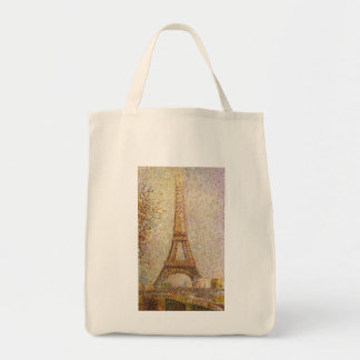 Eiffel Tower by Georges Seurat, Vintage Fine Art