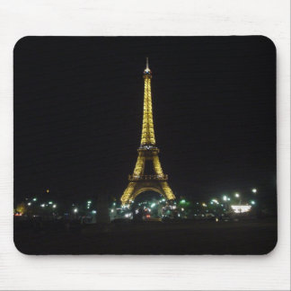 Eiffel Tower by night Mouse Mat