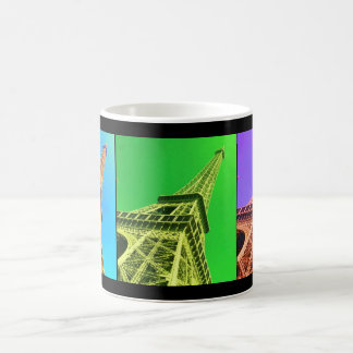 Eiffel Tower Colorized Coffee Mug