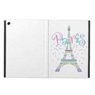 Eiffel Tower Confetti iPad Air Powis Cover