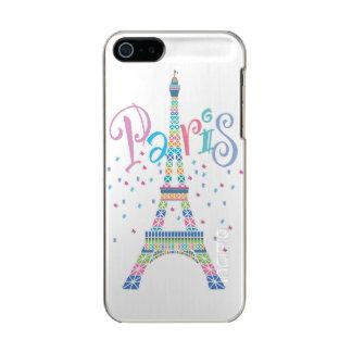 Eiffel Tower Confetti iPhone SE/5/5S Incipio Case