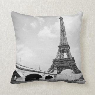Eiffel tower cushion