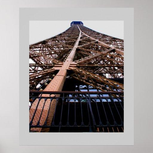 Eiffel Tower Detail Poster