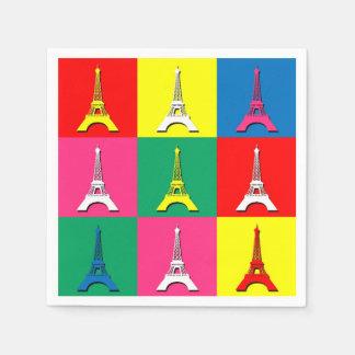 Eiffel Tower Disposable Serviette