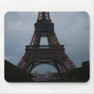 Eiffel tower evening mouse pad