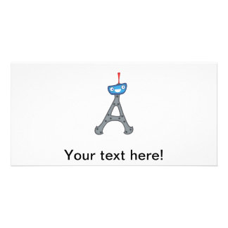 Eiffel tower, France clipart Photo Greeting Card