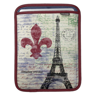 Eiffel Tower France iPad Sleeve