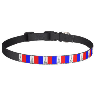 Eiffel Tower France Pet Collar