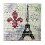 Eiffel Tower France Tile