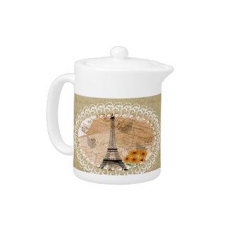 Eiffel Tower French Postcards