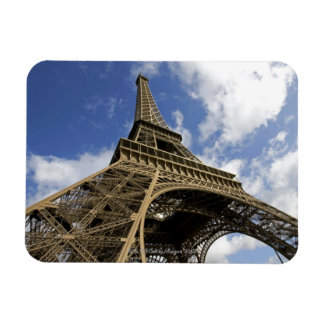Eiffel tower from low angle rectangular magnet