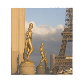 Eiffel Tower from the Palais de Chaillot, Paris, Notepad