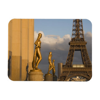 Eiffel Tower from the Palais de Chaillot, Paris, Vinyl Magnet