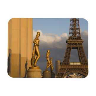Eiffel Tower from the Palais de Chaillot, Paris, Rectangular Photo Magnet