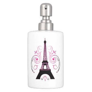 Eiffel Tower Gradient Swirl Design Bath Accessory Sets