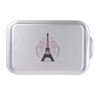 Eiffel Tower Gradient Swirl Design Cake Pan Cake Pan