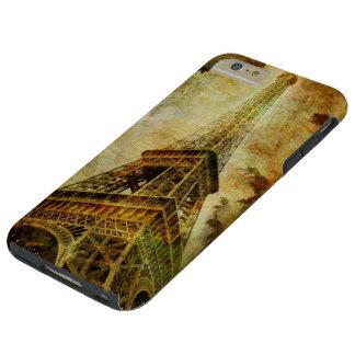 Eiffel Tower Grunge Tough iPhone 6 Plus Case