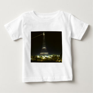 Eiffel Tower illuminated at 1900 Paris Exposition T Shirt