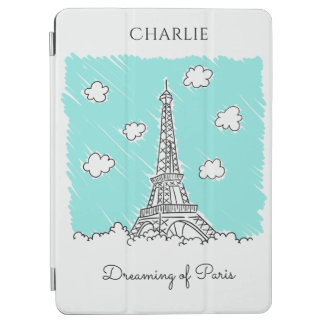 Eiffel Tower Illustration custom device covers