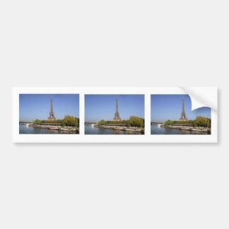 Eiffel tower in Paris Bumper Sticker