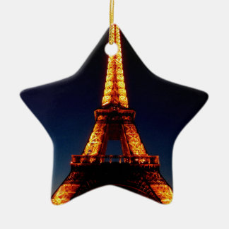 Eiffel tower in Paris Christmas Ornament