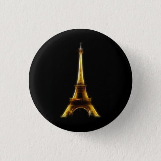 Eiffel Tower in Paris France 3 Cm Round Badge