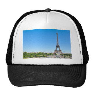 Eiffel Tower in Paris, France Cap