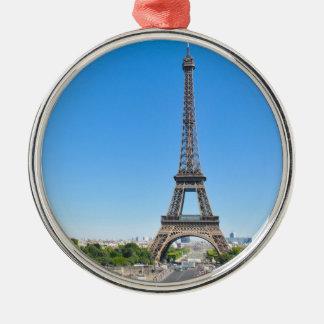 Eiffel Tower in Paris, France Christmas Ornament