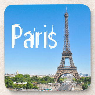 Eiffel Tower in Paris, France Coaster