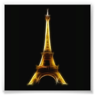 Eiffel Tower in Paris France Photo Print
