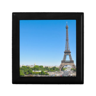 Eiffel Tower in Paris, France Small Square Gift Box