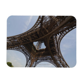 Eiffel Tower in Paris, low angle view Rectangular Magnet