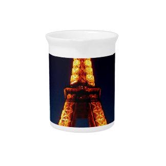 Eiffel tower in Paris Pitcher