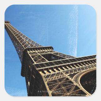 eiffel tower in PARIS Square Sticker