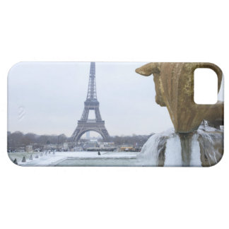 Eiffel tower in winter 2 case for the iPhone 5