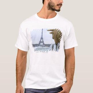 Eiffel tower in winter 2 T-Shirt