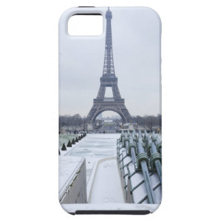 Eiffel tower in winter 3 iPhone 5 cover