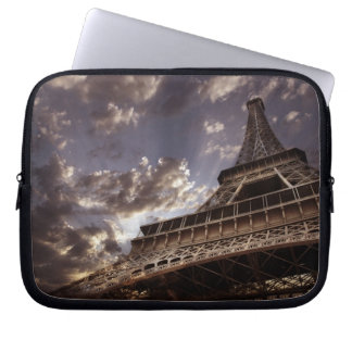 Eiffel tower laptop sleeves