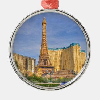 Eiffel Tower Las Vegas Paris Limousine Nevada Christmas Ornament