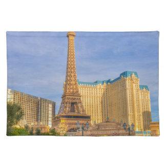 Eiffel Tower Las Vegas Paris Limousine Nevada Placemat