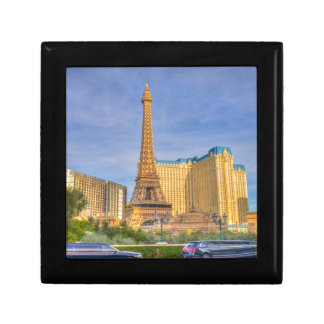Eiffel Tower Las Vegas Paris Limousine Nevada Small Square Gift Box