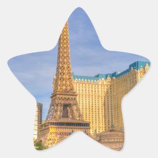 Eiffel Tower Las Vegas Paris Limousine Nevada Star Sticker