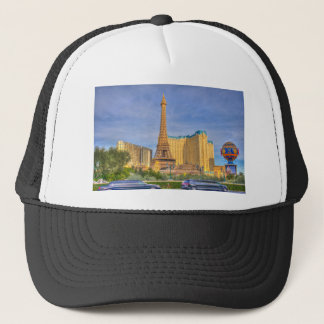 Eiffel Tower Las Vegas Paris Limousine Nevada Trucker Hat
