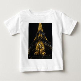 Eiffel Tower Nightime Yellow Lights - Paris,France Tee Shirts