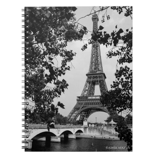 Eiffel Tower Notebook