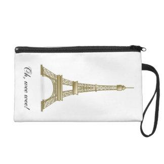Eiffel Tower: Oh Wee Wee! Cute Bag Wristlet Purse